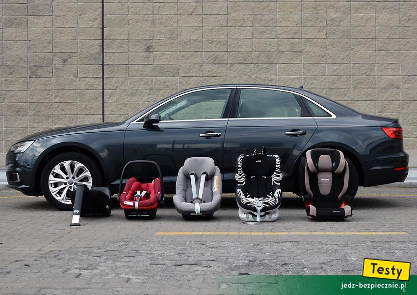 Testy Dziecko W Audi A4 Limousine Foteliki I Wózki Audi A4 B9