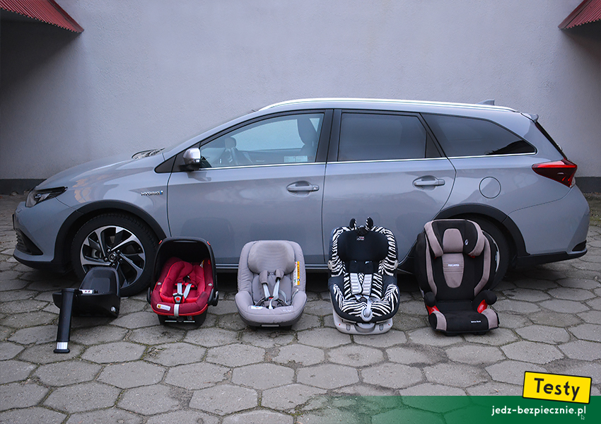 Testy Dziecko W Toyocie Auris Ii Kombi Foteliki I Wozki Toyota