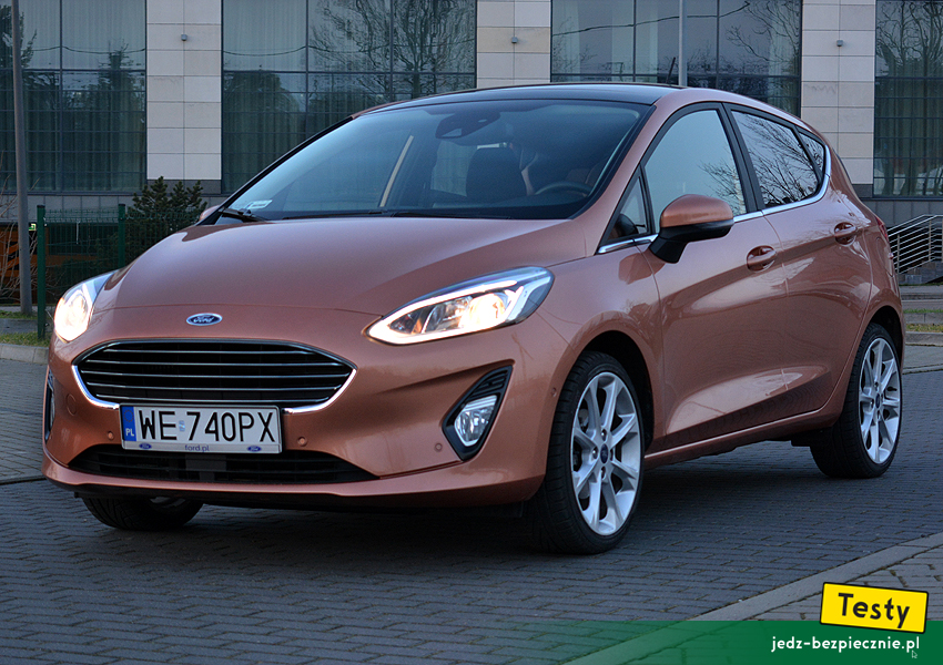 Ford Fiesta VIII 5d - front