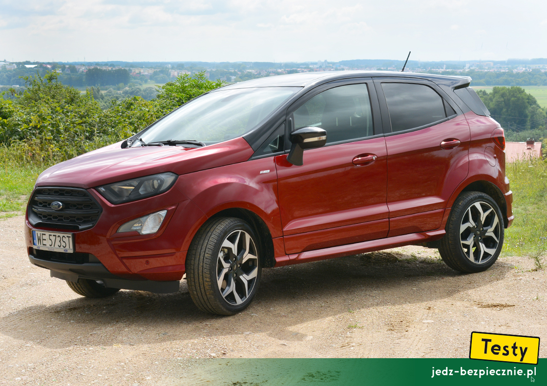 Testy - Ford EcoSport II facelifting - przód