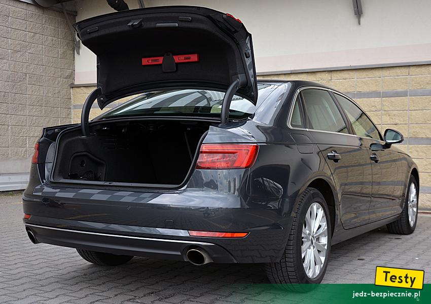 Testy W Stronę Bezpieczeństwa Audi A4 B9 Limousine