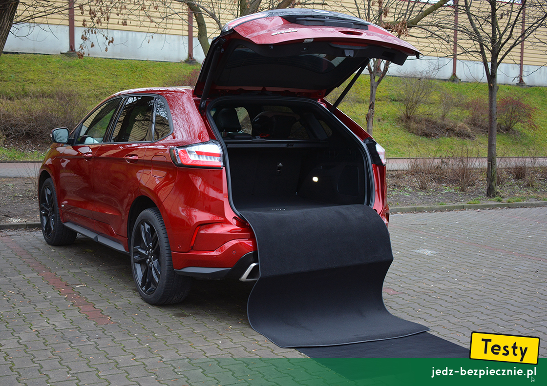 Testy - Ford Edge II facelifting - plusy i minusy