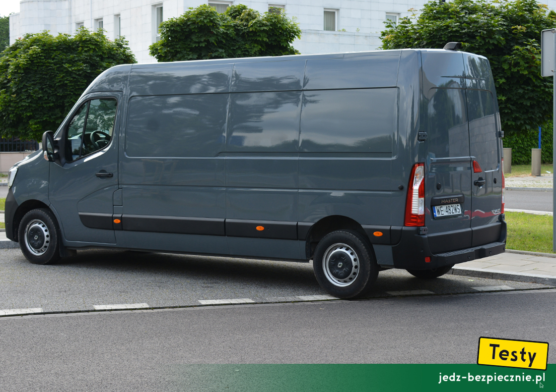TESTY | Renault Master III facelifting L3H2 furgon FWD | tył