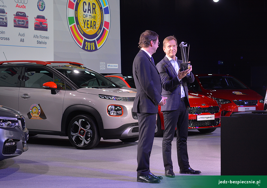 WYDARZENIA | Car of the Year 2018 - Volvo XC40