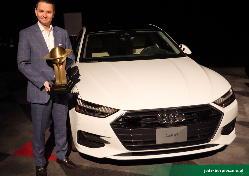 WYDARZENIA I World Car of the Year - Jaguar I-Pace i długo, długo nic I 2019 I Audi A7