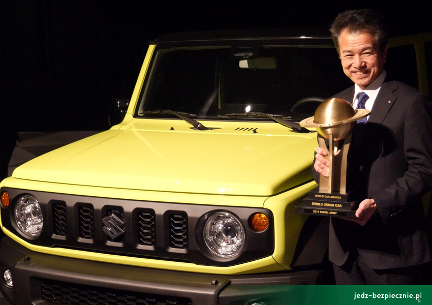 WYDARZENIA I World Car of the Year - Jaguar I-Pace i długo, długo nic I 2019 I Suzuki Jimny